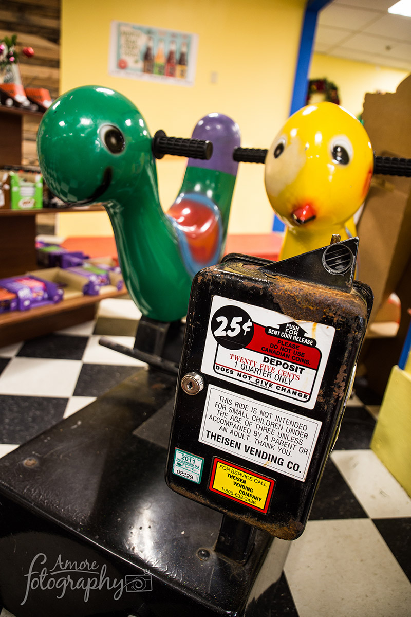 Coin Operated Kid's Ride in Arcade image