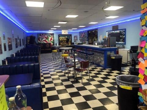 Blue Sun Soda Shop 1