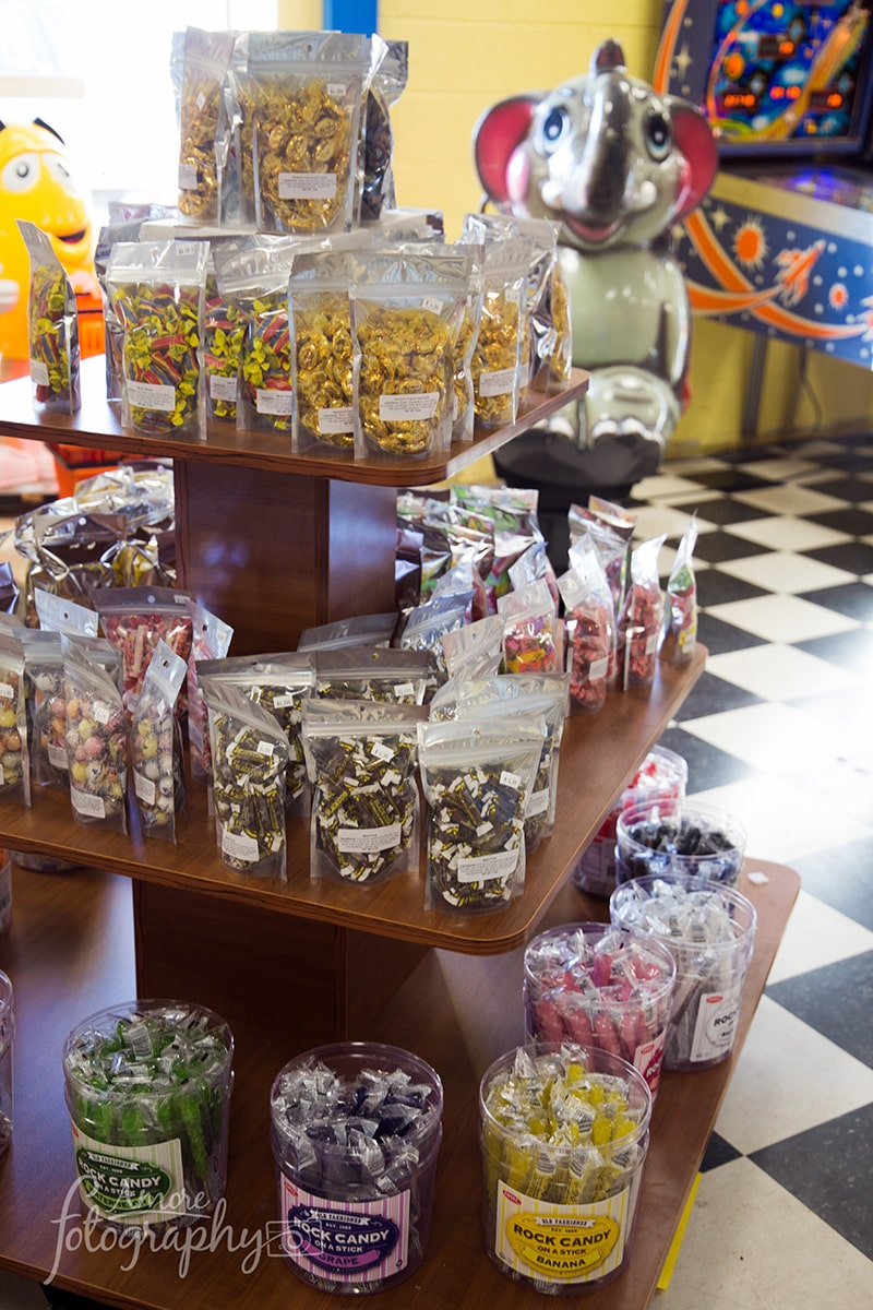 Image of a Display Stand of Hard Candies