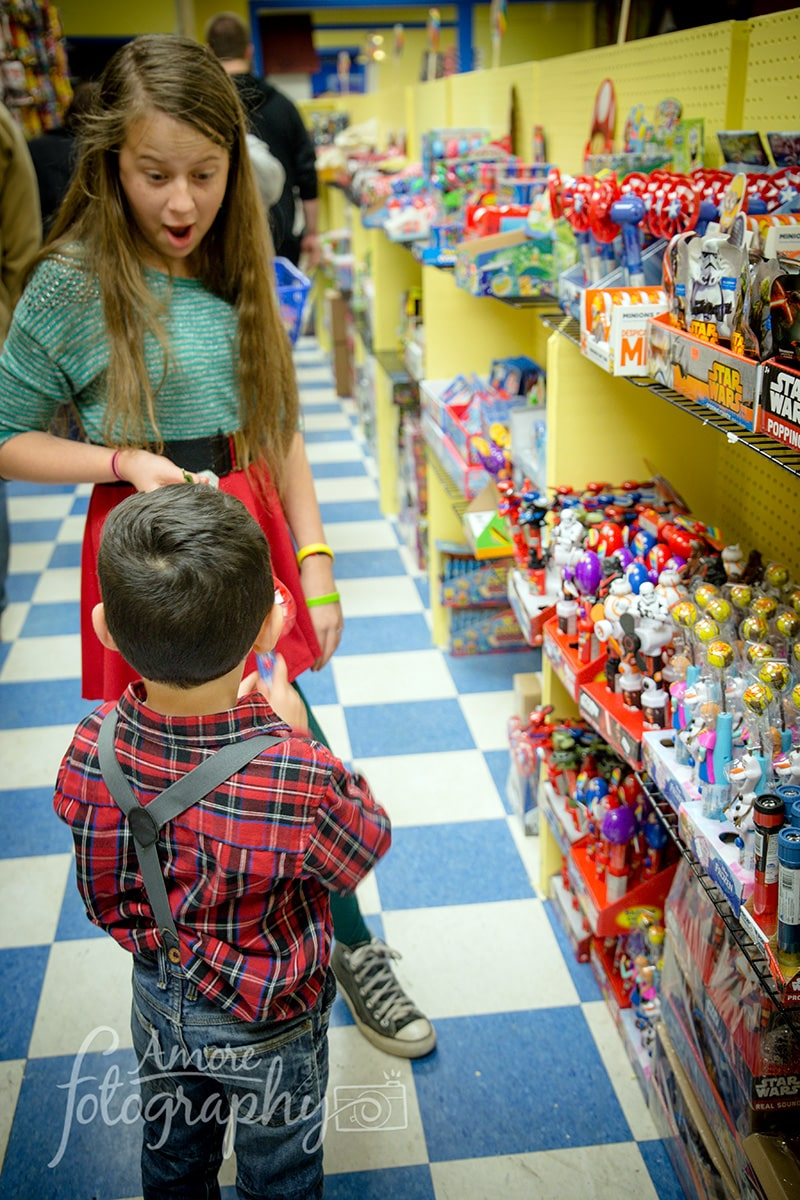 Image of Kids Choosing their Favorites in the Candy Store