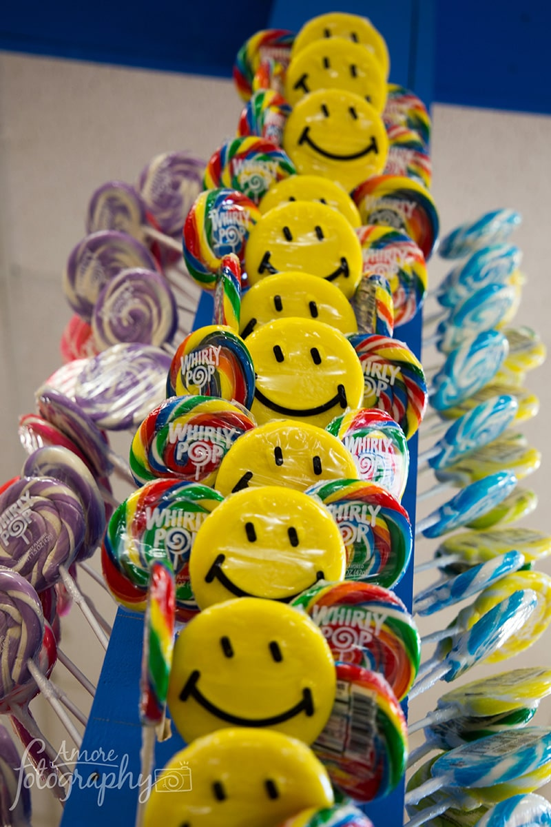 Image of Suckers and Lollipops at a Candy Store