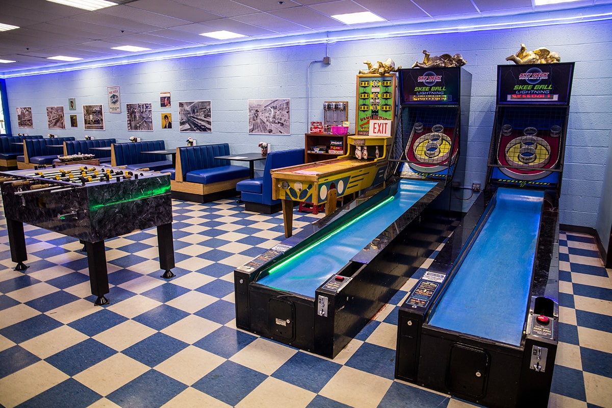 Image of Skee-Ball and Games